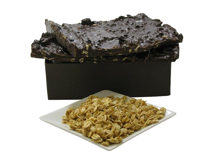 Chocolate Granola Bark