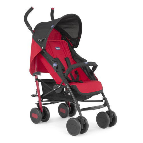 Stroller: Echo with bumper bar - Garnet