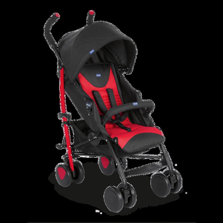 Stroller: Echo with Bumper Bar - Scarlet