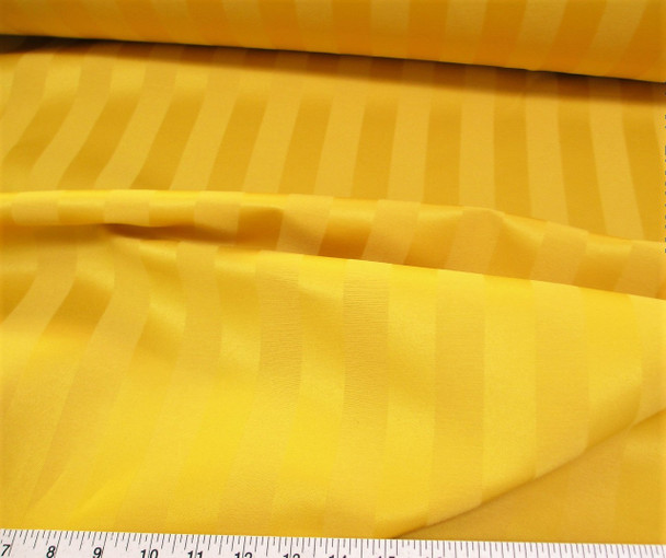 Discount Fabric Upholstery Drapery Brocade Satin Stripe Gold 38DR