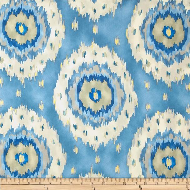 Discount Fabric Richloom Upholstery Drapery Alhambra French Ikat Medallion 26NN