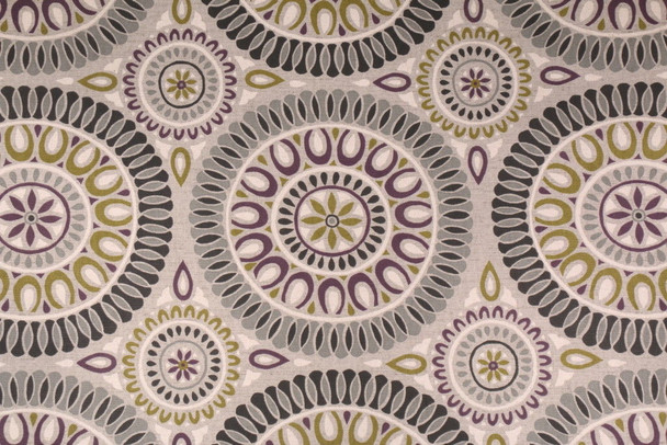 Discount Fabric Richloom Upholstery Drapery Linen Embark Flagstone Medallion 21OO