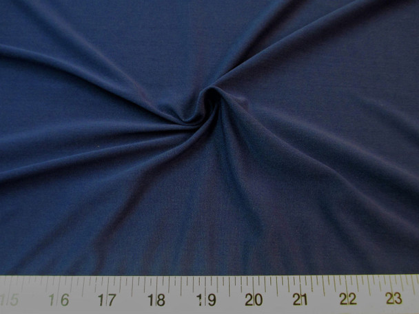 Discount Fabric Nylon Lycra Spandex 4 way stretch Navy 714LY