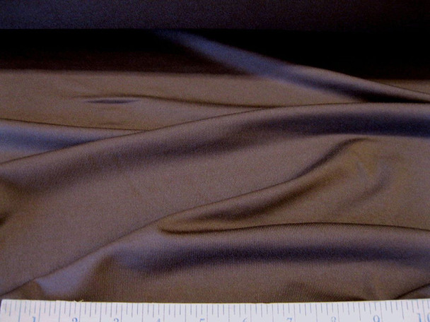 Discount Fabric Polyester Lycra Spandex 4 way Super Stretch Brown 956LY