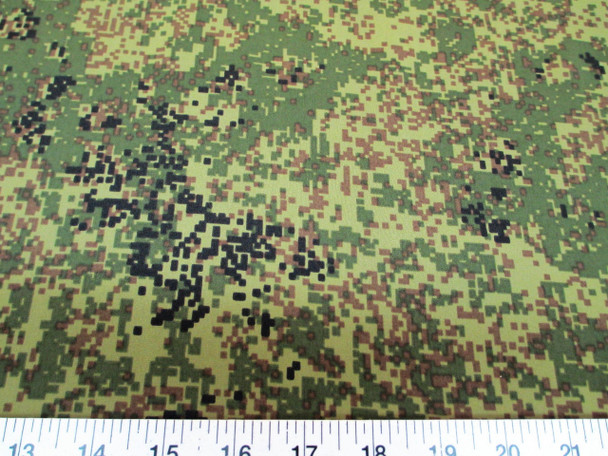 Discount Fabric Cotton Blend Apparel Army Digital Camouflage 2cb