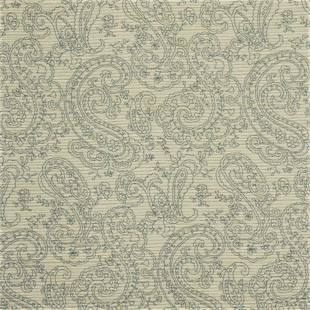 Fabric Robert Allen Beacon Hill Ana Reversible Smoke Upholstery Floral 43*J