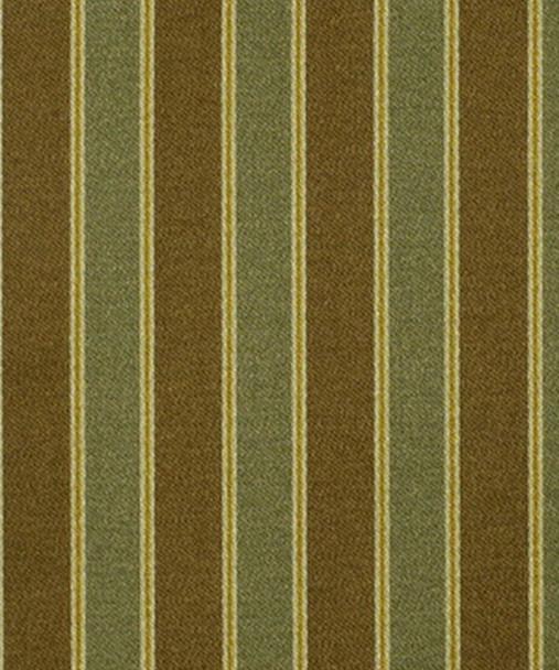 Fabric Robert Allen Beacon Hill Tamora Moss Silk Striped Upholstery Drapery 43JJ