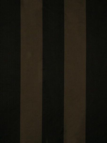 Fabric Robert Allen Beacon Hill Modern Stripe Ebony Silk Upholstery Drapery 42II