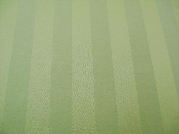Discount Fabric Upholstery Drapery Brocade Satin Stripe Sage Green 40BB