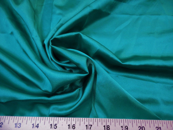 Discount Fabric Charmeuse Silky Bridal Satin Apparel Jade 10CS