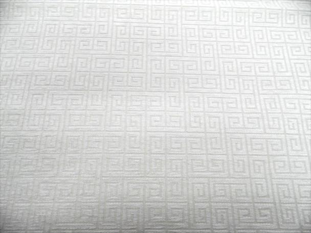 Discount Fabric Robert Allen Upholstery Drapery Plush Keys Cream Chenille EE37