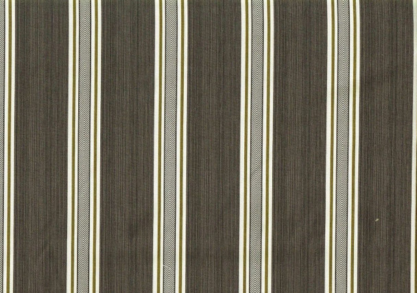 Fabric Upholstery Drapery Waverly Williamsburg Fincastle Graphite Stripe 19GG