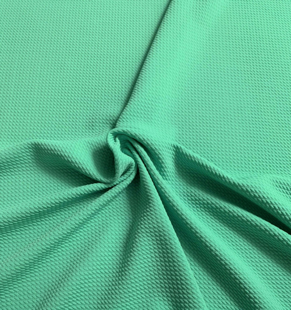 Bullet Textured Liverpool Fabric 4 way Stretch Mint Green 13S