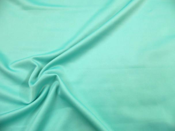 Fabric Techno Scuba Polyester Spandex 4 way Stretch Aqua TS17