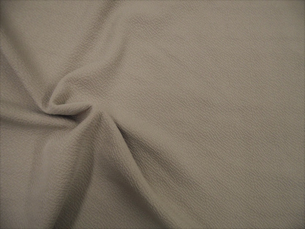 Fabric Liverpool Textured 4 way Stretch Scuba Dark Taupe L700