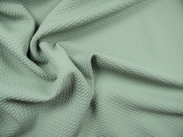 Bullet Textured Liverpool Fabric 4 way Stretch Sage Green X63
