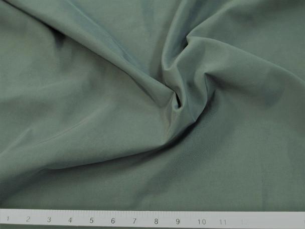 Discount Fabric 2 Ply 100% Nylon Taslan Water Repellent Eucalyptus Green 42KK