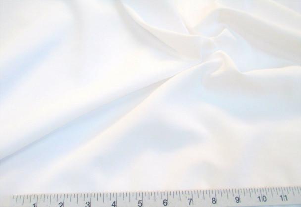 Discount Fabric 2 Ply 100% Nylon Taslan Water Repellent White 47KK