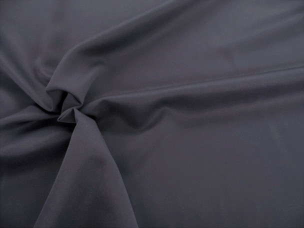 Discount Fabric 2 Ply 100% Nylon Taslan Water Repellent Graphite Gray 32KK