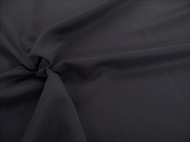 Discount Fabric 2 Ply 100% Nylon Taslan Water Repellent Black 301KK