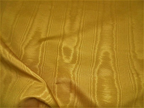 Discount Fabric Moire` Bengaline Faille Old Gold SS49