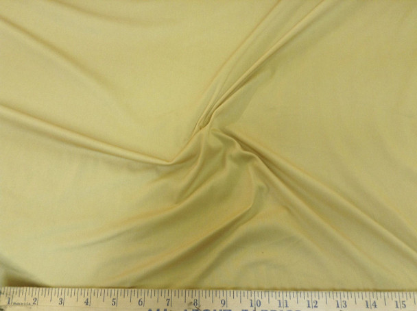 Discount Fabric Gold PowerNet Mesh Spandex 4 way Stretch sheer  100PO