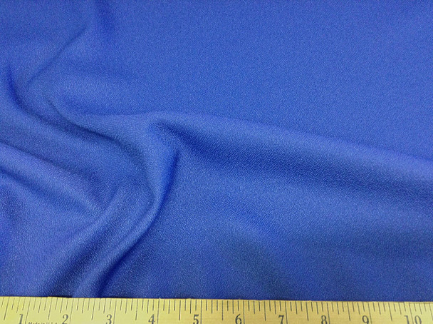 Discount Fabric Momie Weave Crepe Drapery Blue 10DR