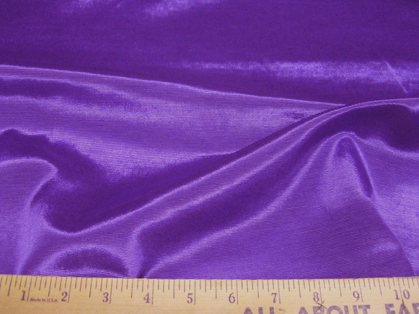 Discount Fabric BENGALINE Faille Solid Advent Purple  111Ben