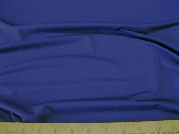 Discount Fabric Polyester Lycra Spandex 4 way Super Stretch Navy 989LY