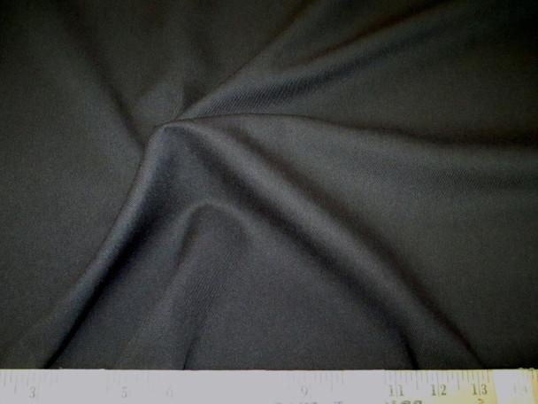 Discount Fabric 66 inches wide Fine Twill Black 04TW