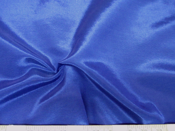 Discount Fabric BENGALINE Faille 52 inches wide Solid Blue 208BEN