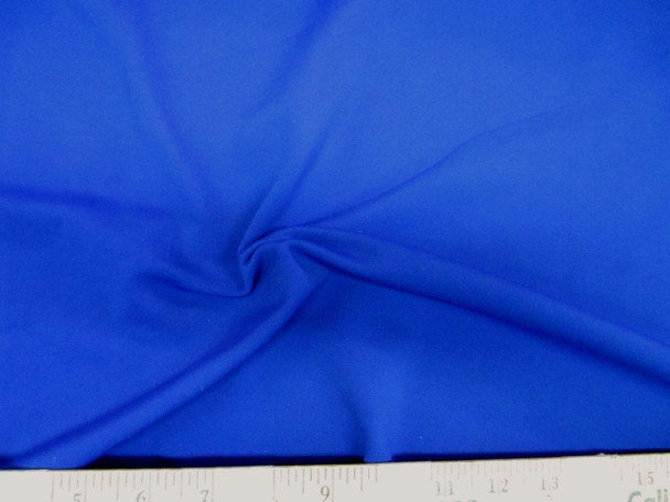Discount Fabric Scuba 4 way Stretch Royal Blue 987LY