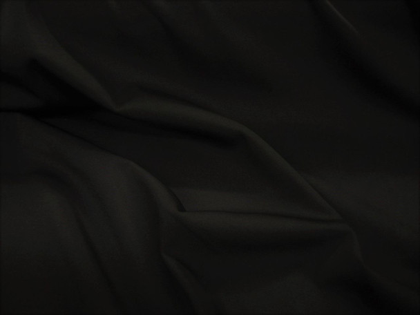 Discount Fabric Polyester Lycra Spandex 4 way Super Stretch Solid Black 980LY