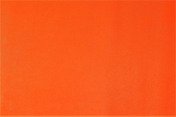 Discount Fabric Faux Leather Upholstery Pleather Vinyl Orange 11PL