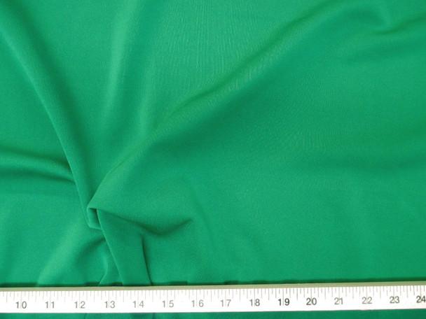 Discount Fabric Scuba 4 way Stretch Grass Green 709LY