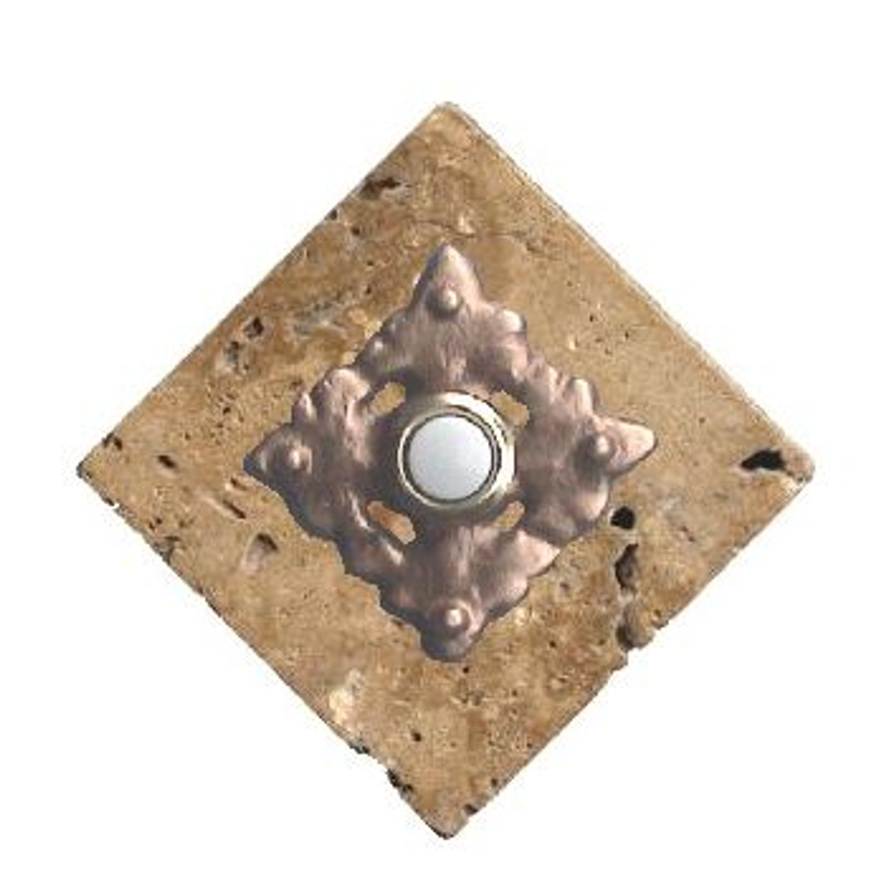 Picture of: Clavos Doorbell Button On Stone 360 Yardware
