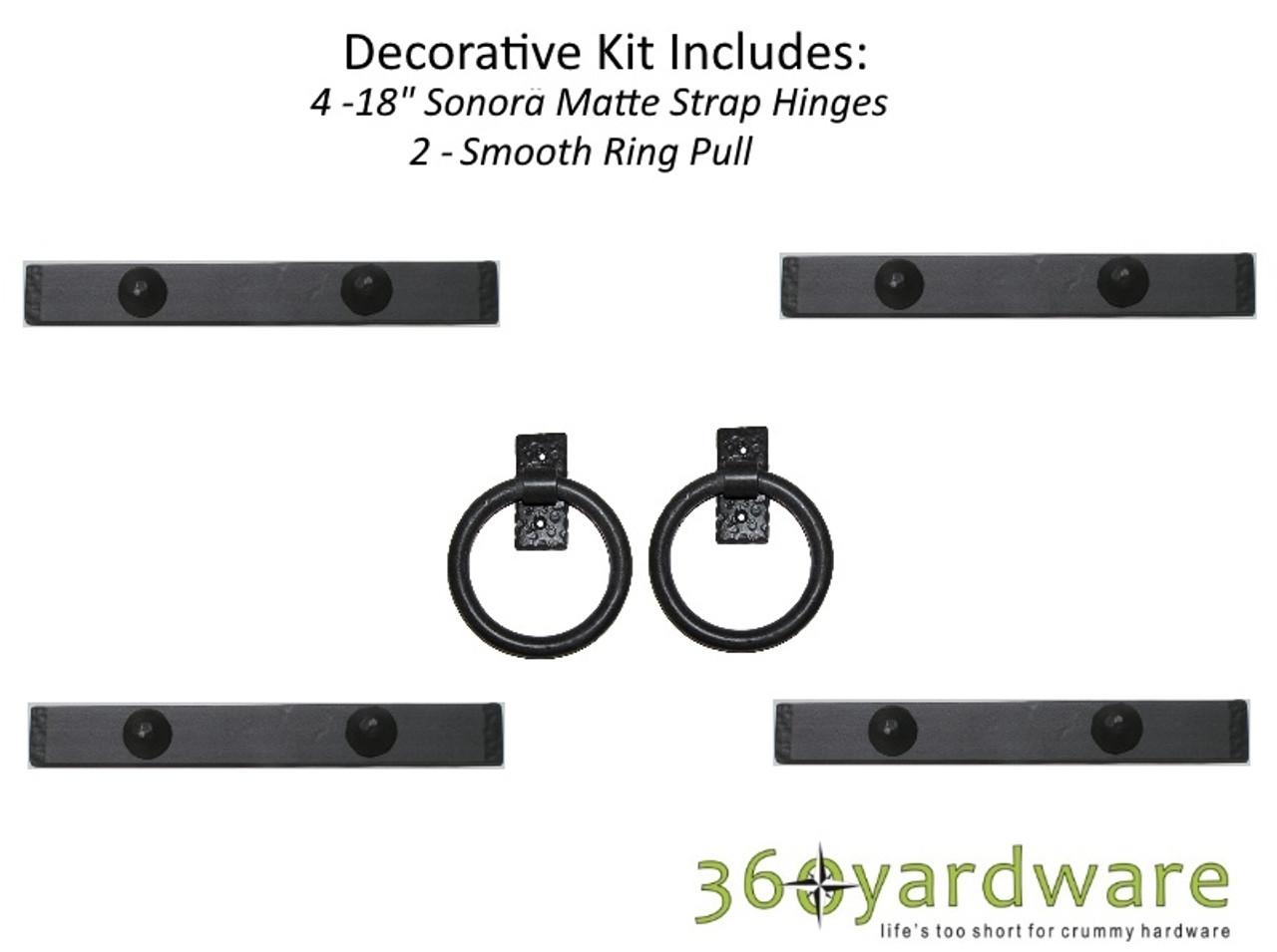 Garage Door Kit >> Southwest Style Decorative Garage Door Kit