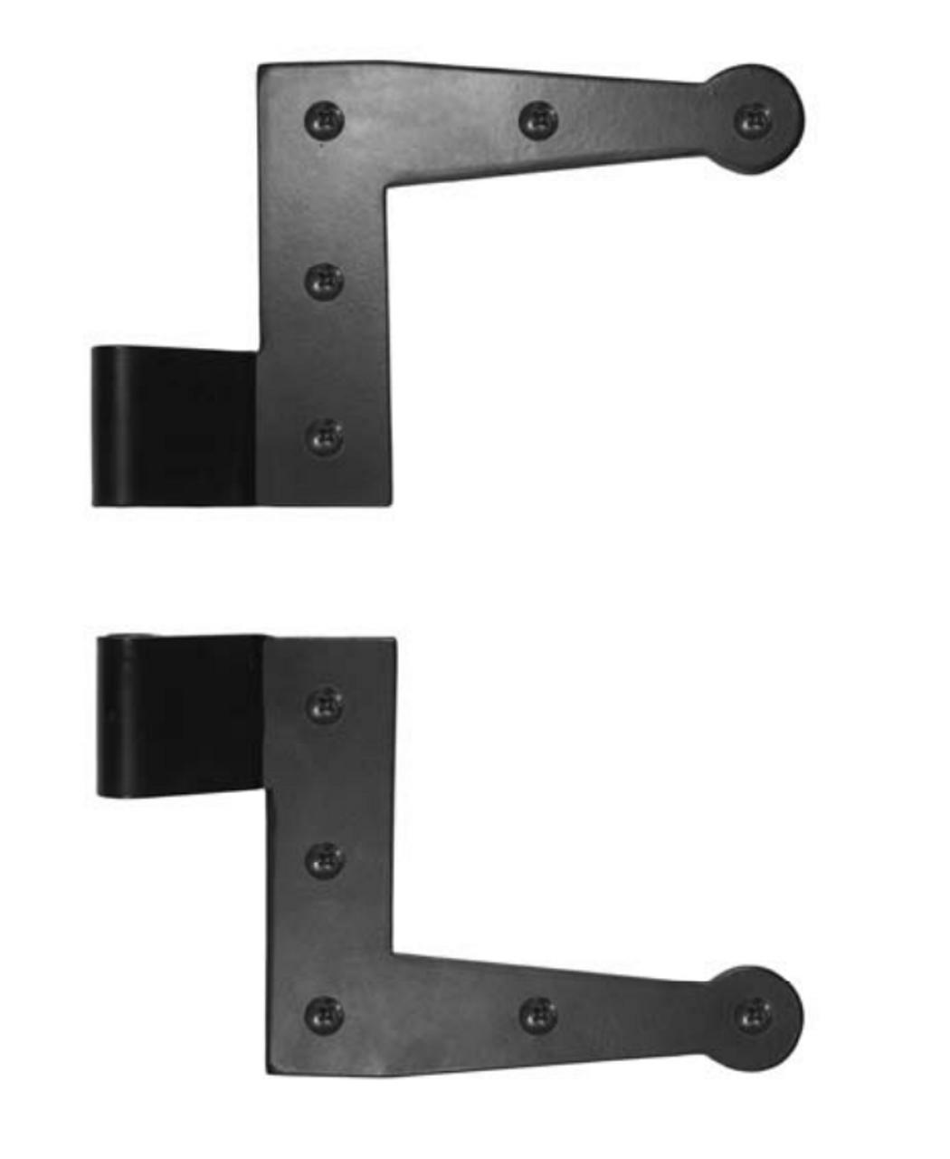 Suffolk Style L Hinge 1 3 4 Offset Galvanized Steel