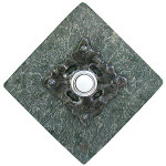 CL PW Clavos in Pewter Doorbell Cover on Diamond Stone brass contemporary door bells at 360 Yardware