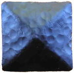 """2"""" Distressed Square Iron Clavos Nail - Flat Black"""