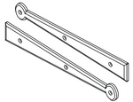 """Suffolk Style Hinge Front  (12"""")"""