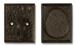 Dark Bronze Deadbolt (Small)