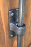 Close-Up of Coastal Bronze Cane Bolt 80-100 for double gates