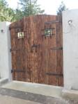 Dark Bronze Door Grille