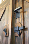 Bronze Combination Lever Latch for Craftsman and Contemporary Gates