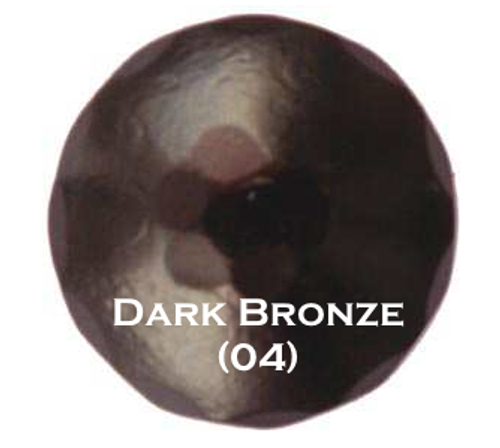 "3/4"" Distressed Round Iron Clavos Nail - Dark Bronze"