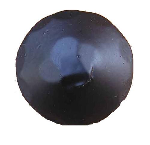 "1-1/4"" Distressed Round Iron Clavos Nail - Flat Black"