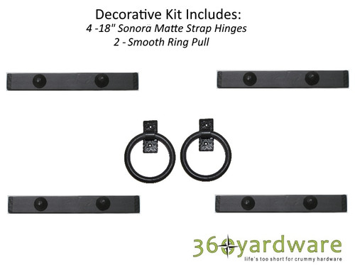 Southwest Style Decorative Garage Door Kit