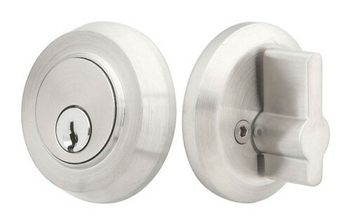 Stainless Steel Round Deadbolt