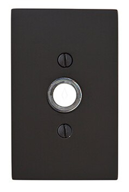 Modern Rectangular Doorbell Button